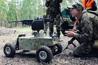 四輪駆動+可動銃座・・・エアソフト用ドローンがちょっとスゴそう!