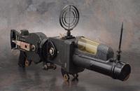 旧日本海軍に制式採用された六櫻社(現コニカミノルタ)製ガンカメラ『八九式活動写真銃改二』がeBayに出品