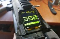 近未来感溢れるデザインのエアソフト用デジタル残弾表示カウンター