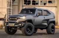 ジープ・ラングラーをベースにした、米新興メーカー「レズヴァニ」製の戦術市街地車輌『タンク』