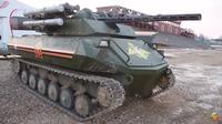 ロシア、無人タンク「Uran-9」の輸出を開始