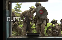 ロシア連邦保安庁の特殊部隊による総力を挙げた演習がクリミアで実施