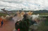 おそロシア…軍事演習で攻撃ヘリコプターが観客に向けて対地攻撃用ロケット弾を誤発射