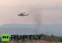 ロシア軍の Mi-35M ガンシップがシリア領内で初めて確認
