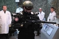 ロシア版の軍用ヒト型ロボット「イワン (Ivan the Terminator) 」
