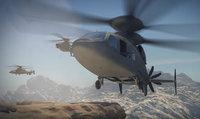 ロッキード・マーチンが次世代型軍用ヘリ「SB>1デファイアント」のCGアニメーションを公開