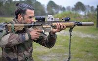 フランスのバイアスロン選手が特殊部隊 (13e RDP) の訓練に参加