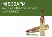 南アフリカが「7.62mm弾並の性能を持つ」イスラエルの新型徹甲弾『5.56mm APM』の評価試験を計画