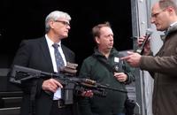 ドイツ連邦軍のG36後継小銃に名乗りを上げている「RS556」の各部と特徴を紹介する映像が公開