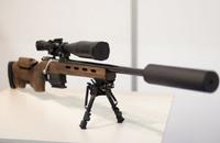 スティレット・システムズ社がウクライナ軍向け新型「STL–016」スナイパーライフルを発表