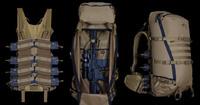 超軽量タクティカルパック『R3 3300』