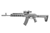 カラシニコフの銃身をフルフロートにする改造キット「SAG AK CHASSIS MK2」