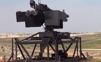 シリアの武装勢力がプレステのコントローラーを使った遠隔操作式の機関銃ロボットを投入