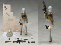 銃火器キットシリーズ「リトルアーモリー」figma第2弾、可動フィギュア『椎名六花』が2018年2月に新発売