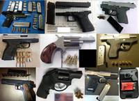 2月23日に全米各地の空港から計21挺の銃火器を押収。運輸保安局が1日の押収件数として過去最悪を発表