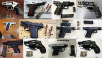 米運輸保安局が旅行者の機内持ち込み用バッグから1週間で96挺の銃火器を押収
