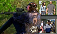 「アメリカン・スナイパー」夫人が NRA トップシューターとの射撃対決に「パーフェクト」勝利