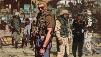 元 CIA 情報将校の原作、イラク侵攻時の混沌期を描くコミック「THE SHERIFF OF BABYLON」