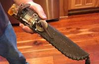 大戦中に鹵獲された零式艦上戦闘機「アクタン・ゼロ」のパーツから作られたナイフ