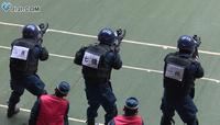 警視庁主催の機動隊対抗による射撃競技会の映像が公開