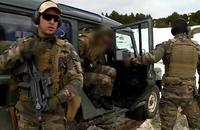 フランス国立コマンド訓練センター(CNEC)でおこなわれた要人警護要員の養成課程訓練映像