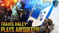 トラヴィス・ヘイリー(Travis Haley)がサバイバルゲームをプレイ