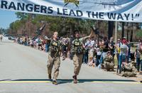 2017年度の米陸軍最優秀レンジャー競技会で第75レンジャー連隊の兵士が優勝