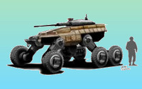 米陸軍が初のロボット戦闘車輌の試作機を使って2021年までにテストを計画