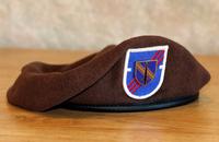 アメリカ陸軍の第1安全保障支援旅団(1st SFAB)のベレーカラーが「ブラウン」に決定