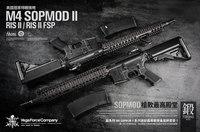 VFCから米軍特殊部隊御用達「M4 SOPMOD II RIS II / FSP」ガスブロモデルがアジア限定で新発売