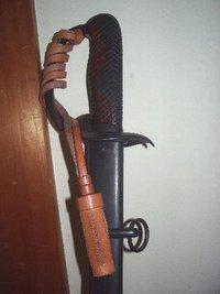 国内業者さま製 複製 日本陸軍 官給軍刀用 革製刀緒
