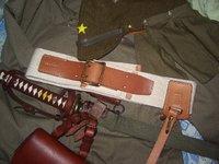 国内業者さま製 複製 日本陸軍 布製略刀帯