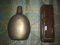 日本陸軍 実物 将校用飯盒&水筒