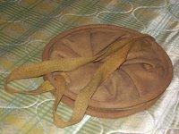 日本陸軍 実物 水嚢(折り畳み式布バケツ)