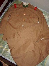 個人業者Sさま製 複製 日本陸軍 兵下士官用 四五式夏衣袴