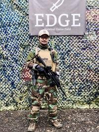 サバゲフィールド EDGEにお邪魔しました
