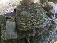 2017 陸自 信太山駐屯地祭(その2) 防弾チョッキ3型 ディテール