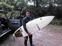 久しぶりのサーフィン