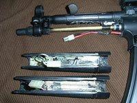 ハンドガード型バッテリーの性能