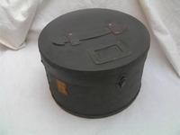 士官軍帽 二個 帽子缶