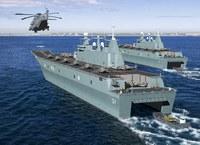 中国の新型揚陸艦、デカイそうです(゜_゜)