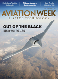 Aviation Weekがスクープ!アメリカ空軍の無人スパイ機RQ-180