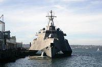 米海軍戦闘艦インディペンデンス、報道公開