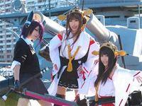 横須賀市 記念艦三笠に女性客多数。楽しそうです♪