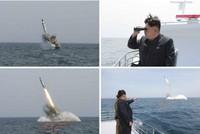 北朝鮮、ミサイル発射の写真に加工の疑いあり♪