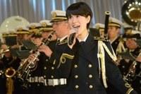 海上自衛隊東京音楽隊三宅3曹、ノルウェーで熱唱♪