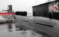 海上自衛隊潜水艦 こくりゅう 引き渡し。