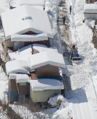 雪と闘う自衛隊