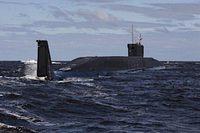 ロシア、新型原潜就役。