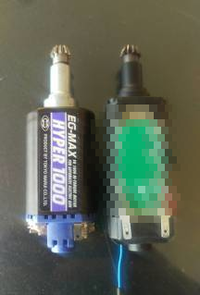 Electrical Brushless Motor System(ブラシレスモーター)ショットショーで体験できます!